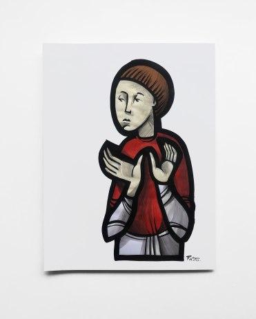Portrait-habit-rouge
